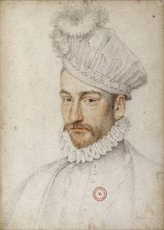 CLOUET François - French (Tours circa 1515-1572 Paris) - Charles IX (1550-1574) / King of France from 1560 until 1574
