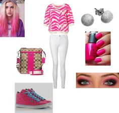 """""""Pink"""" by jahlah on Polyvore"""