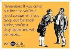 Hmmm Consumers vs Hippies