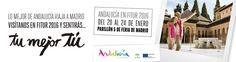 Últimando los preparativos para #Fitur2016 y Tu historia os espera en el stand de Andalucía Pabellón 5.