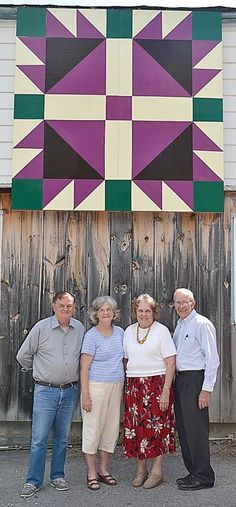 Countyメs first Barn Quilt square installed | The Pocahontas Times