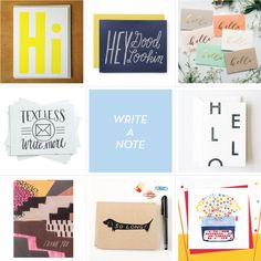 NATIONAL CARD + LETTER WRITING MONTH