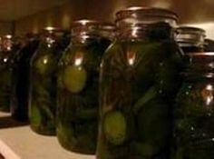 I got this recipe from one of those little old ladies (God rest her soul) from a church i used to go to and when i would do handyman work for her she would give me a jar! and she finaly gave me the recipe one day! Lime Pickles, Sweet Pickles, Canning Tips, Home Canning, Canning Recipes, Homemade Pickles, Pickles Recipe, Sauteed Potatoes, Sweet Lime
