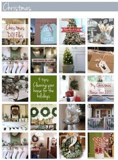 A gallery full of Christmas decorating inspiration posts from The Inspired Room!