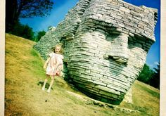 Chief Leatherlips - Dublin, Ohio.  In addition to the Leatherlips statue, the park has a play area, several picnic shelters and an amphitheater with grass seating and a 1,000-square-foot, wooden stage.