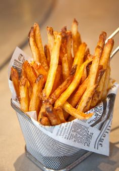 If its one thing I can eat every day, its french fries! So not healthy, but sooo gooood!