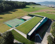 Sport Center ETH Honggerberg / Dietrich   Untertrifaller Architekten