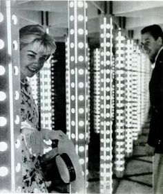 She loved the House of Mirrors.    Doris Day