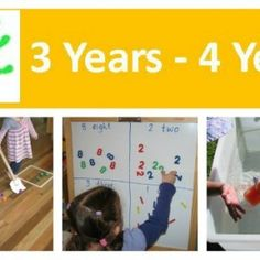A collection of activities and ideas to do with kids age 3 years to 4 years to promote learning and development. #activitiesfor3yearoldsand4yearolds