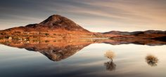 Reflections Of Errigal... Mount Errigal in Co Donegal, Ireland  by Gary McParland on 500px.
