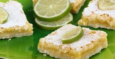 Coconut Key Lime Bars