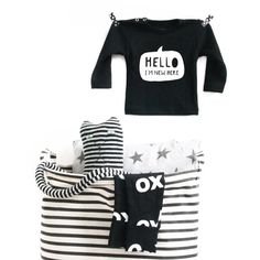 HELLO I'm New Here! For your little fashionista! Available at Etsy: vanPauline or www.vanpauline.nl