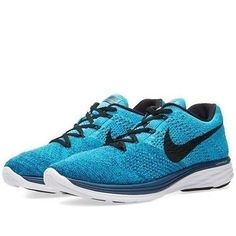 NEW Nike Flyknit Lunar3 Brave Blue/Black-Neo Turquoise Blue 698181-401 SZ 12 #Clothing, Shoes & Accessories:Men's Shoes:Athletic #socialmatic05 $115.00