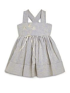 Helena and Harry Little Girl's Striped Cotton Dress
