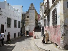 Calle Luneta, Tetuán Old Pictures, Old Town, Nature, Bled, Image, Landscapes, Morocco, Goal, Grand Mosque
