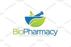 Pharmacy Logo by LogoLabs on @creativemarket