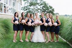Lilly Pulitzer Bridesmaids Dresses - Preppy Maryland Wedding | Natalie Franke Photography