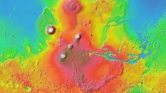 Google can also you show you around Mars. Google Mars is a collaboration with NASA researchers at Arizona State University