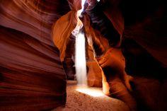 Antelope Canyon, Page, Arizona   Antelope Canyon - Light Beam (Page, Arizona)