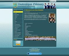Outeniqua primary school approached Vertex Central to create a unique site to not only contain their whole curriculum but to give students access to important things like latest news and the option to parents to subscribe to a interactive newsletter which contains all important need to know info. #CMS #Joomla #webdesign #blue #school #southafrica
