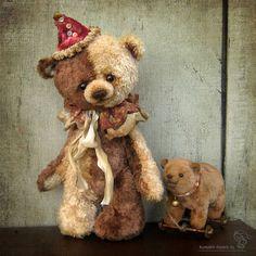 Henri by Irina Kunakh Teddy Bear Crafts, My Teddy Bear, Cute Teddy Bears, Teady Bear, Big Stuffed Animal, Teddy Toys, Monster Dolls, Love Bear, Bear Doll
