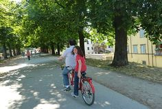Bike tour in Lucca, Italy