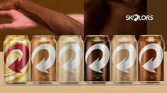 Skolors: Skol lança latinhas inspiradas em tons de pele para celebrar diversidade - Geek Publicitário