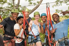 Everyone made it safely to the other side: ready for the second zipline! Special Interest Groups, Private Games, Game Reserve, Best Places To Travel, The Other Side, Father And Son, Tent Camping, South Africa, The Good Place