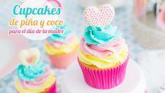 ♡ Vídeo paso a paso para hacer unos cupcakes de piña y coco. Para mí son especiales para el día de la madre porque son unos sabores que nos encantan. Espero ...