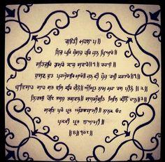 Sikh religious sign ik onkar ek omkar vector pack best Punjabi calligraphy font