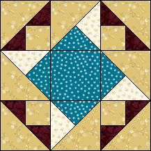 Block of Day for February 20, 2017 - Flying Ducks-strip piecing-The pattern may be downloaded until: Thursday, March 2, 2017.
