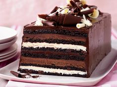 Chocolate Truffle Layer Cake | Food & Wine goes way beyond mere eating and drinking. We're on a mission to find the most exciting places, new experiences, emerging trends and sensations.