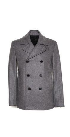Theory Tanker Rikert Pea Coat Pea Coat, Theory, Coats, Jackets, Fashion, Down Jackets, Moda, Parka Coat, Wraps