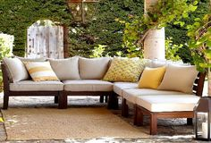 PATIO COUCH OUT OF PALETS | Wooden Outdoor Sofas Maintenance Tips | Snapfiction Home and Garden