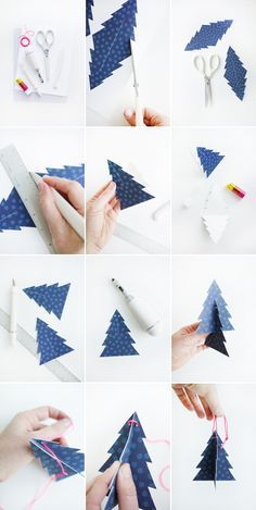 DIY Holiday Tree Ornaments with FREE Printable