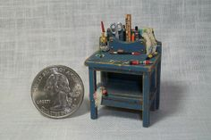 Artist Bench (half scale)   Flickr - Photo Sharing!