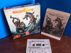 ZX SPECTRUM juego GOLDEN AXE cinta cassette Cassette, Axe, Spectrum, Video Games, Ebay, Cover, Shopping, Retro Games, Bias Tape