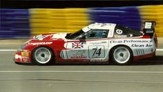 Corvette in Le Mans