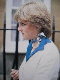 Lady Diana Spencer - Décembre 1980