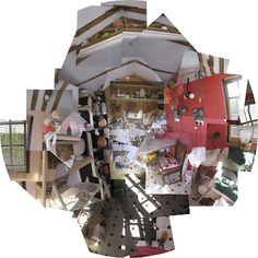 My studio, Hockney style David Hockney Joiners, Study Photos, Art And Craft Design, Cubism, Photomontage, Contemporary Artists, Art Lessons, Collagen, Acrylic Nails
