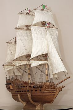 Beautiful Tall Ship Model