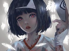 Anime Noragami  Nora (Noragami) Chica Short Hair Black Hair Red Eyes Fondo de Pantalla
