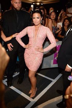 Demi Lovato at the Video Music Awards - August 30th