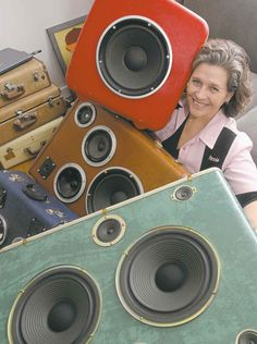 Winnipegger transforms vintage luggage into suitcase speakers