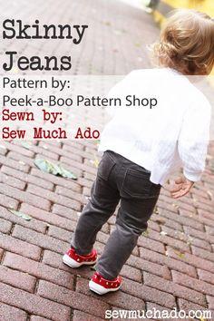 DIY Skinny Jeans (Sew Much Ado)