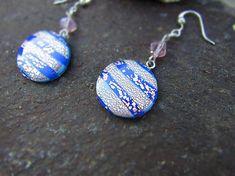 Atelier-Muza / Náušnice pestrofarebné potešenie (modré potešenie) Earrings Handmade, Jewerly, Drop Earrings, Personalized Items, Atelier, Jewlery, Schmuck, Jewelry, Drop Earring