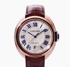 Introducing Cle' de Cartier, the All-New Line for Men and Women - Reis-Nichols Jewelers Best Watches For Men, Fine Watches, Cool Watches, Dream Watches, Cartier Santos, Seiko, Hand Watch, Beautiful Watches, Luxury Watches