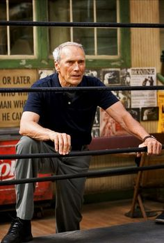 Clint Eastwood in Million Dollar Baby