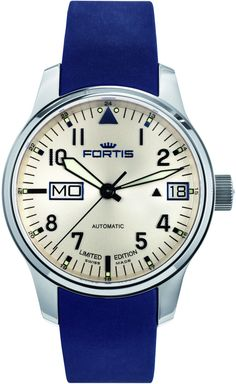 Fortis Watch Aviatis F-43 Recon Limited Edition #bezel-fixed…
