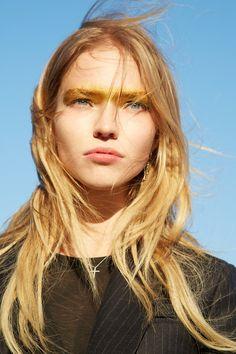 Sasha Luss by Pat McGrath x Vogue & Patrick Demarchelier